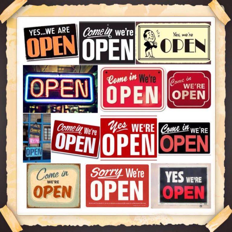 De winkel is terug open vanaf 11 mei