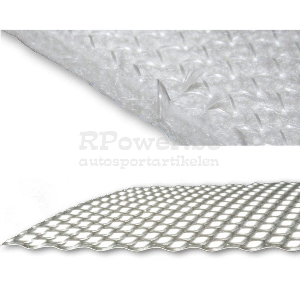 Hitteschild inox – isolatie 5mm apart verkrijgbaar