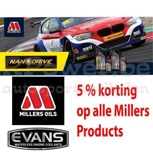 Millers Oils – Evans koelvloeistof