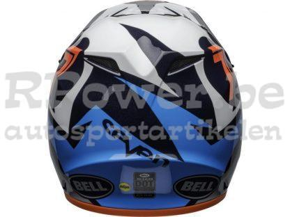 151-830- B-cross-helmet- MX-9-seven-ignite-black-blue-grey-orange-Bell-lichtgewicht-RPower