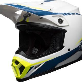 151-832-W-Bell-helmet-mx-9-gloss-white-blue-yellow-lichtgewicht-cross-off-road
