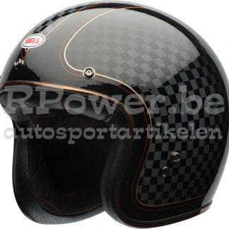151 870 RS Bell jet Custom 500 zwart blinkend met design