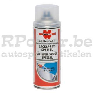 Peinture aérosol-transparent-satiné-mat-400ml-RPower