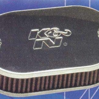 K&N filters met 2 deksels
