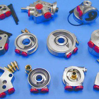 Olie adapter platen / Olie filter steunen