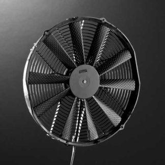 Ventilators, radiators, kappen
