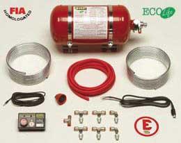 Vervangstukken brandblus systemen (nippels, sproeiers, kabels,..)