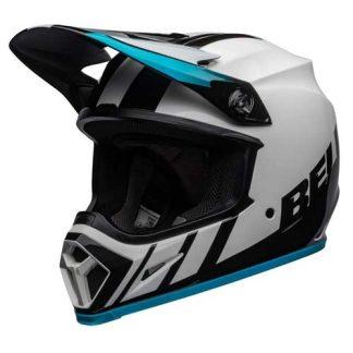 helm-bell-dach-lichtgewicht-voorkant-wit-blauw