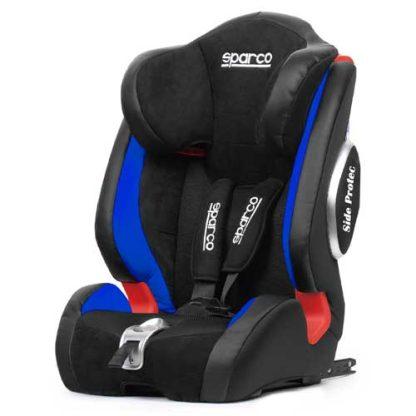 Kinderstoel-blauw-sparco-9-36-kg-9-maanden-tot-12-jaar