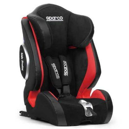 Kinderstoel-rood-sparco-9-36-kg-9-maanden-tot-12-jaar