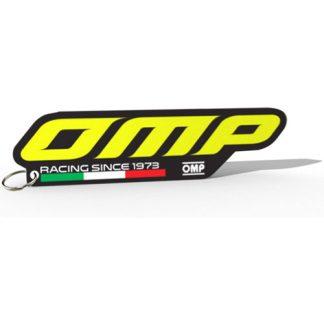 Sleutelhanger-met-siliconenrubber-3D-OMP-logo
